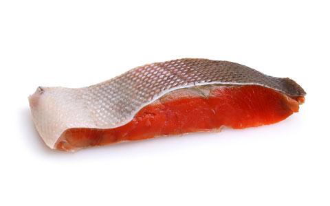 天然紅鮭定塩切身・甘口 1枚
