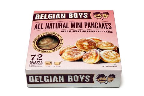 ベルギーボーイズ 冷凍ミニパンケーキ