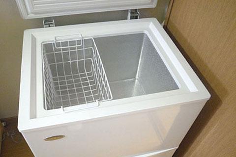 コストコ専用冷凍庫 上段