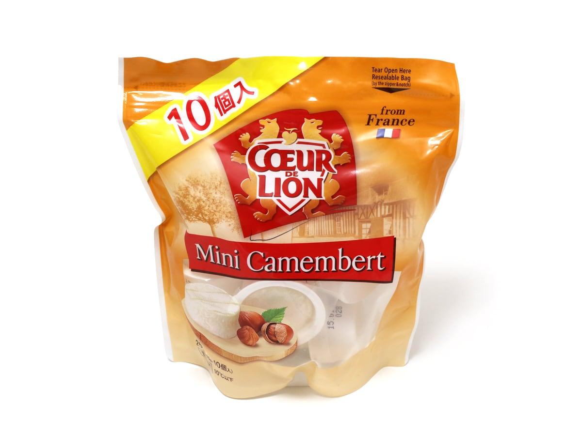 COEUR DE LION ミニカマンベールチーズ 10P