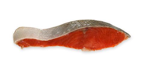 天然紅鮭定塩フィレ 1枚