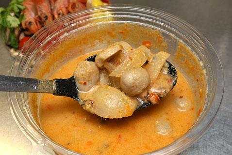 トムヤムクン 下段スープ