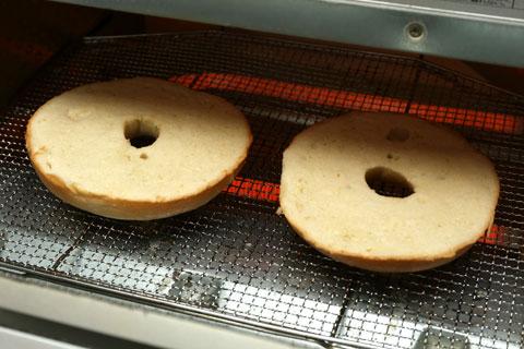 トースターで温める