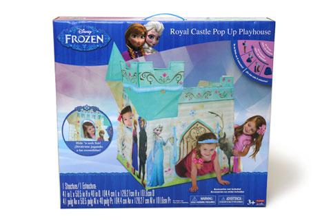 ポップアッププレイハウス アナと雪の女王モデル