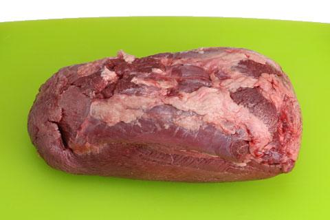 コストコの牛たんの切り分け方 裏側
