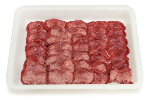 コストコの牛たんの切り分け方 出来上がり