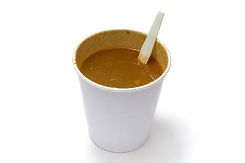 ポテト&ビーンズカレースープ