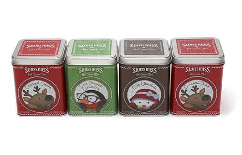 スイスミス ホットココアミックス ギフトパック 缶