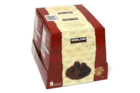 カークランド チョコレートトリュフ