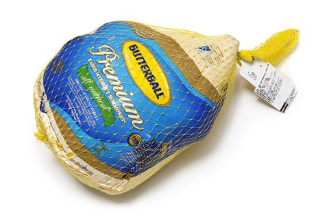 バターボール 冷凍ターキー