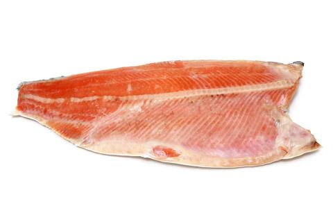 定塩銀鮭フィレ・甘口 開封