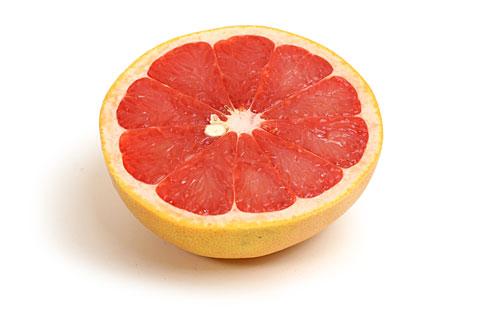 ルビーグレープフルーツ カット断面