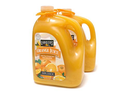 ランガーズ オレンジジュース