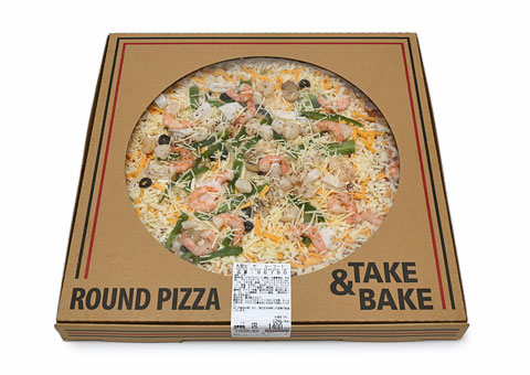 Round pizza seafood01