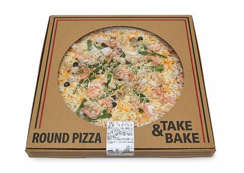 丸型ピザ シーフード