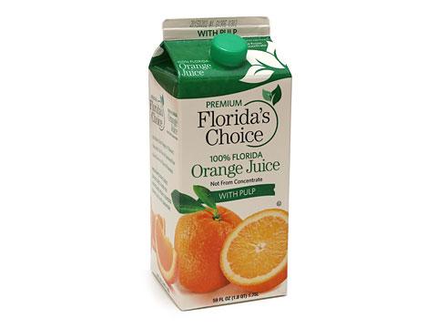 オーリツ フロリダスチョイス 100%フロリダオレンジジュース 1750ml