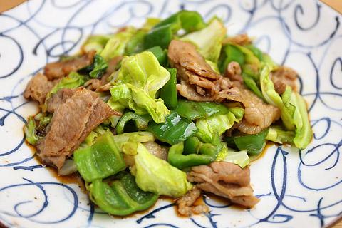 コストコの調味料でうまダレ!肉野菜炒め