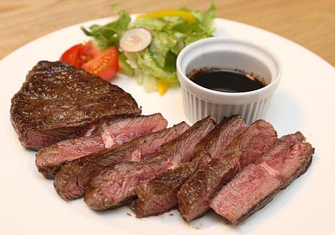 USAビーフ トップブレードステーキ(ミスジ) 調理例