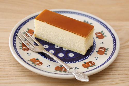 メープルスフレチーズケーキ カット