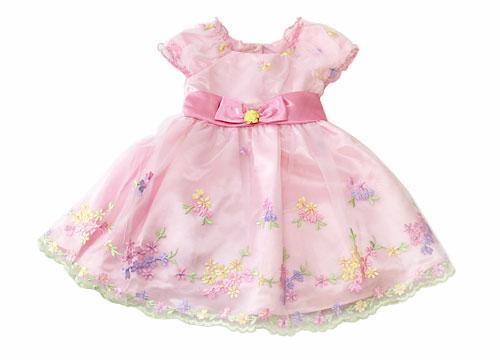 コストコの子供用ドレス 前
