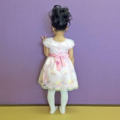 コストコの子供用ドレス おちび