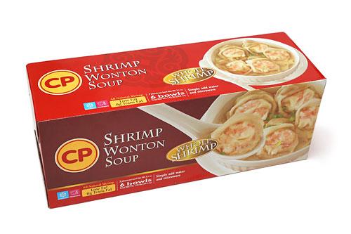 CP シュリンプワンタンスープ 6個入り