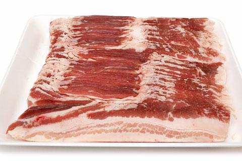 イタリア産豚肉 ドルチェポルコ(バラうすぎり)開封