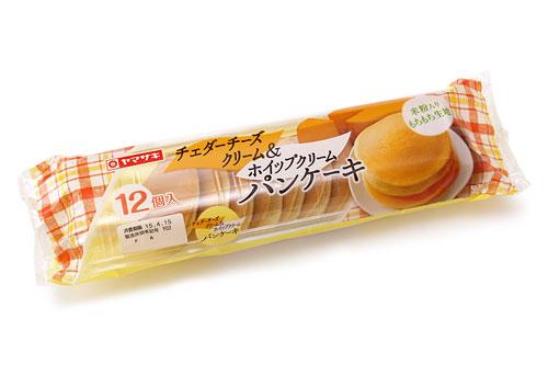 チェダーチーズクリーム&ホイップクリームパンケーキ