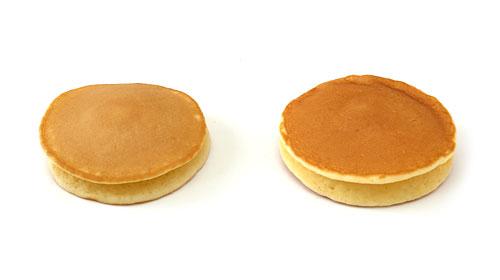 チェダーチーズクリーム&ホイップクリームパンケーキ 木村屋パンケーキとの比較(個別)