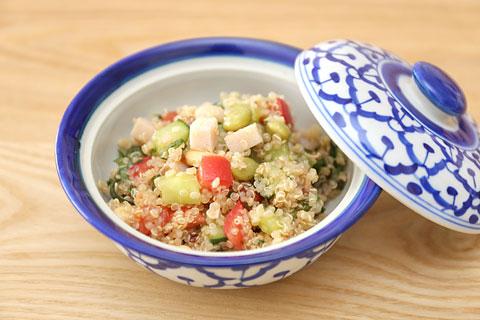 和風キヌアサラダのレシピ