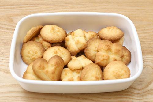 キッチンエイド クッキープレスで作ったクッキー