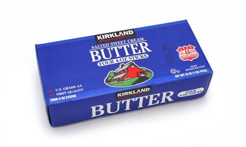 カークランドシグネチャー 有塩バター 1個