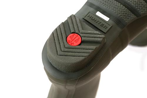 HUNTER トールレインブーツ 靴底