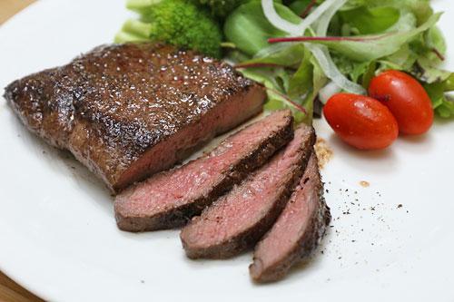 ミドルグレインビーフイチボ ステーキ