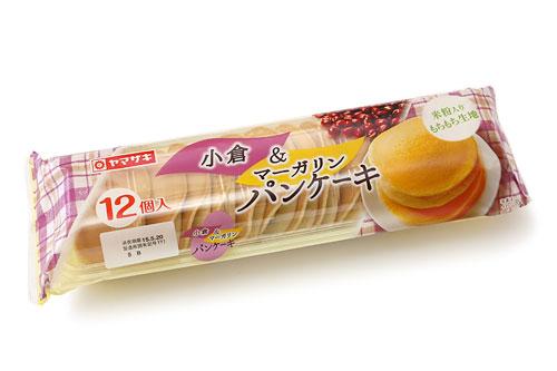 ヤマザキ 小倉&マーガリン パンケーキ