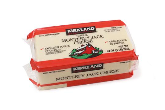 カークランドシグネチャー モントレージャックチーズ