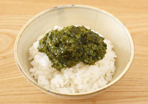 宮城県産 湯通し刻みめかぶ ご飯にのせてめかぶ丼