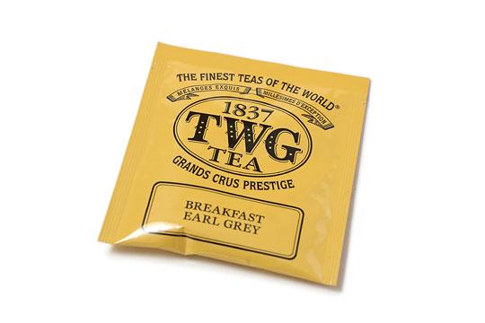TWG 紅茶ティーバッグ  ブレックファーストアールグレイ パッケージ