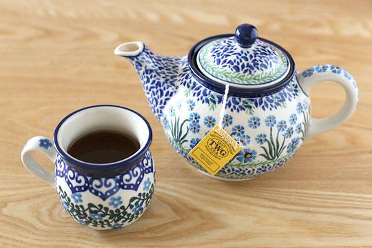 TWG 紅茶ティーバッグ  ブレックファーストアールグレイ 紅茶を淹れた