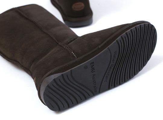 EMU AUSTRALIA(エミューオーストラリア)スティンガー ハイ ムートンブーツ 靴底