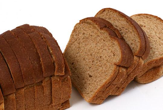 有機食パン ホールウィート カット面