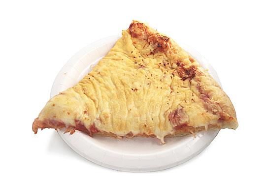 フードコート 4種のチーズピザ