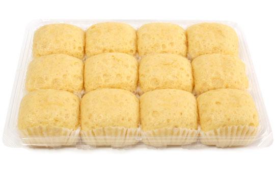 タマヤパン バニラスチームケーキ 開封
