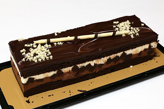 タキシードケーキ 開封