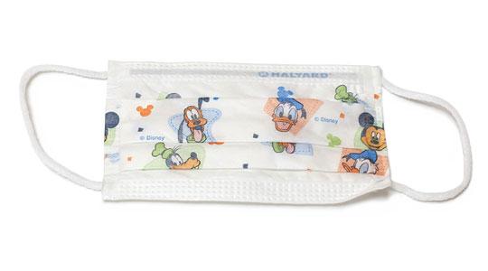 ディズニー子供用プリーツマスク 1枚
