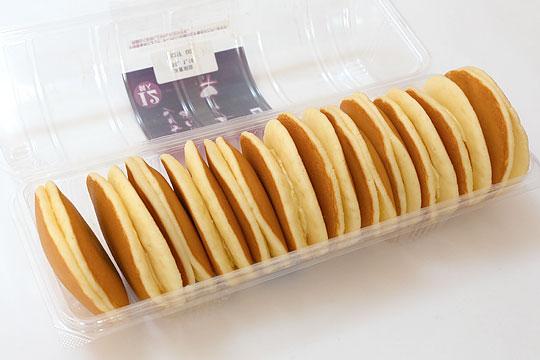 木村屋パンケーキ つぶあん&マーガリン 開封