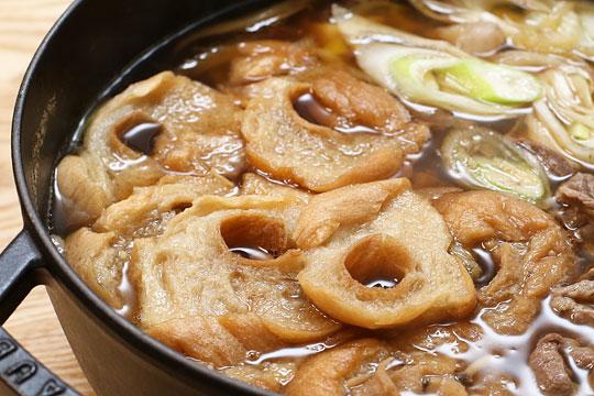 鈴木製麸所 特盛麸 すき焼き