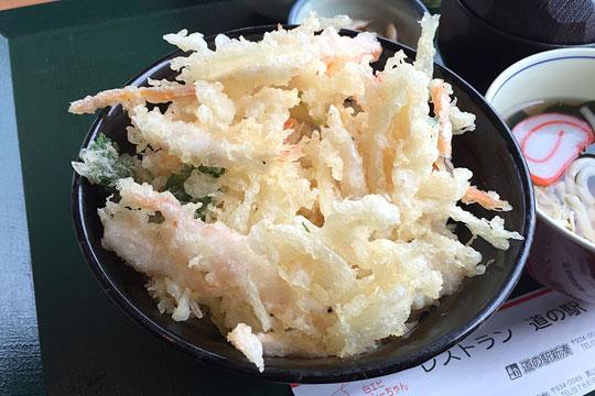 白えびのかき揚げ丼