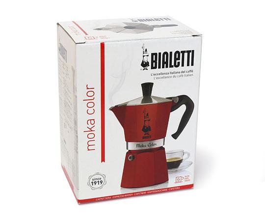 ビアレッティ モカコーヒーメーカー パッケージ