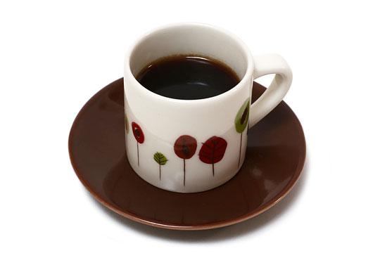 ビアレッティ モカコーヒーメーカーでいれたモカコーヒー